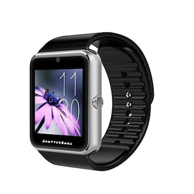 ShutterBugs SB-102 With SIM/Calling Function Smartwatch Multicolor (Black Strap L) Price in India