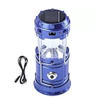 Buy ShutterBugs Solar LED Emergency Light, USB Mobile Charger Hiking Lantern Multicolor Online