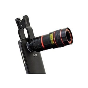 Shutterbugs Telescopic Mobile Lens For iOs And Android Without Stand Black