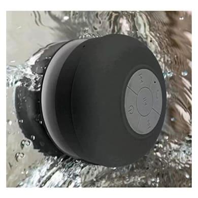 ShutterBugs Waterproof/Shower Portable Bluetooth Mobile/Tablet Speaker Black Price in India
