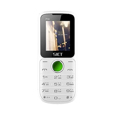 SICT F19 1.77 Inch Display, Camera,Expandable Upto 8GB (White and Green) Price in India