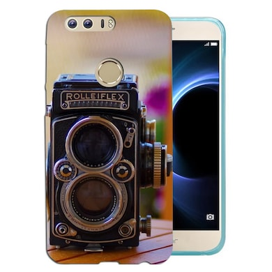 new product 34f21 63ae9 Silverink 3D Printed Back Cover for Honor 8 Multicolor Price in ...