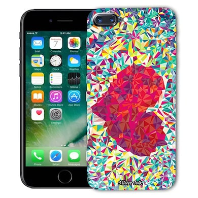 reputable site 59e12 783db Silverink 3D Printed Back Cover for Iphone 7 Plus Multicolor Price ...