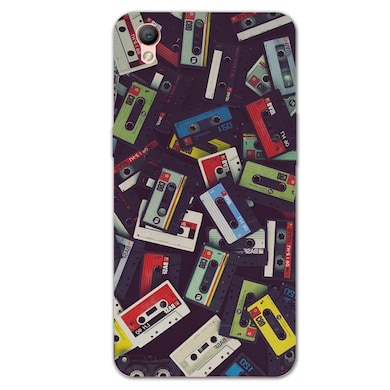 on sale 8720b 0d9f6 Silverink 3D Printed Back Cover for Oppo A37 Multicolor Price in ...