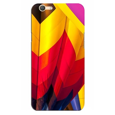 hot sale online 4ccb9 7f852 Silverink 3D Printed Back Cover for Oppo F3 Plus Multicolor Price in ...