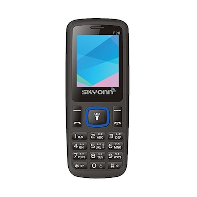 SKYONN F20 Bluetooth,Wireless Radio,Expendable Memory Upto 8 GB (Black and Blue) Price in India