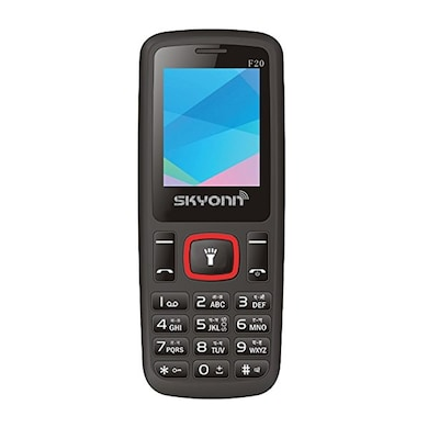 SKYONN F20 Bluetooth,Wireless Radio,Expendable Memory Upto 8 GB (Black and Red) Price in India