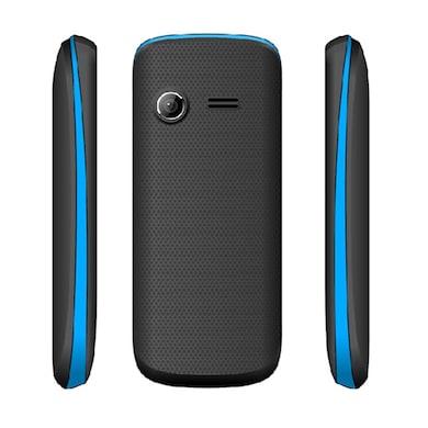 Snowtel S-20 Venus Dual Sim Feature Phone (Black and Blue) Price in India