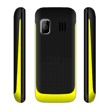 Snowtel S-20 Wiko Dual Sim Feature Phone (Black and Yellow) Price in India