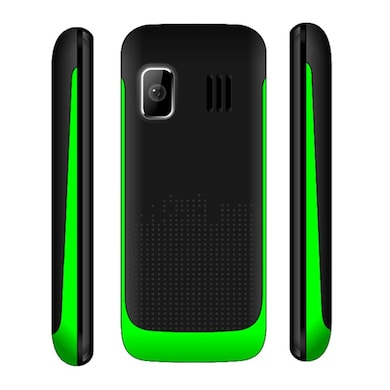 Snowtel S-20 Wiko Dual Sim Feature Phone (Black and Green) Price in India