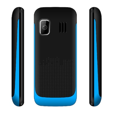 Snowtel S-20 Wiko Dual Sim Feature Phone (Black and Blue) Price in India