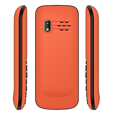 Snowtel S-30 Rio Dual Sim Feature Phone (Black and Orange) Price in India