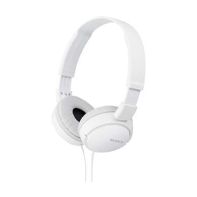 Sony MDR-ZX110A On-Ear Stereo Headphone White Price in India