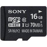 Buy Sony 16 GB Class 10 MicroSDHC Memory Card Online