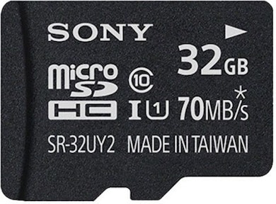 Sony 32 GB Class 10 MicroSDHC Memory Card 32 GB Price in India