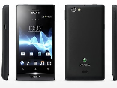 Sony Xperia Miro ST23I (Black, 512MB RAM, 4GB) Price in India