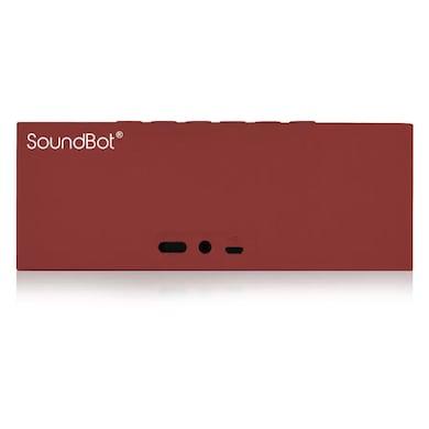 SoundBot SB571 12W Bluetooth Wireless Speakers Red Price in India