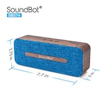 Buy SoundBot SB574 Bluetooth 4.2 Wireless Speaker Blue Online