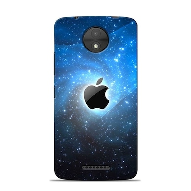 Sowing Happiness Limited Apple Galaxy Design Designer Moto C Plus Back Cover Multicolor Price in India