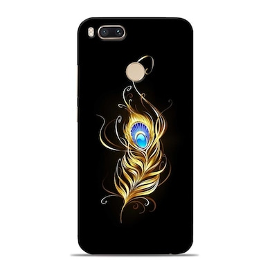 new style 65197 80517 Sowing Happiness Limited Lord Krishna Feather Designer Xiaomi Mi A1 Back  Cover