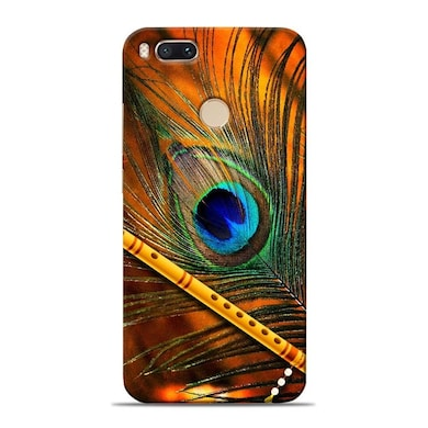 cheaper 43c87 7c450 Sowing Happiness Limited Lord Krishna Mor Pankh Designer Xiaomi Mi A1 Back  Cover