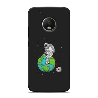 pretty nice 4a5f6 a4c3c Sowing Happiness Limited Playfull Astronaut Back Cover For Motorola Moto G5  Plus