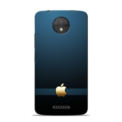 Sowing Happiness Limited The Classic Apple Designer Moto C Plus Back Cover Multicolor Price in India