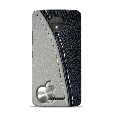 Sowing Happiness Limited Unique Apple Design Designer Moto C Back Cover Multicolor Price in India