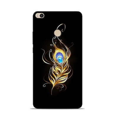 new styles dd891 9555f Sowing Happiness Lord Krishna Feather Designer Xiaomi Mi Max 2 Back Cover