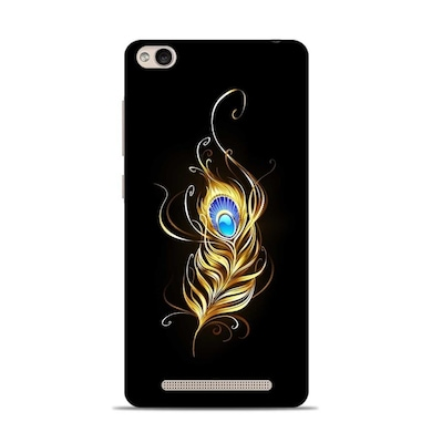 best sneakers 745d1 63a72 Sowing Happiness Lord Krishna Feather Designer Xiaomi Redmi 5A Back Cover