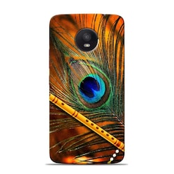sowing happiness lord krishna mor pankh designer moto e4 plus back cover 1533299545
