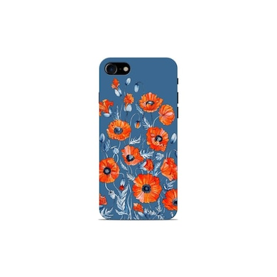 Sowing Happiness Poppy Flowers Back Cover for Apple iPhone 7 Multicolor Price in India