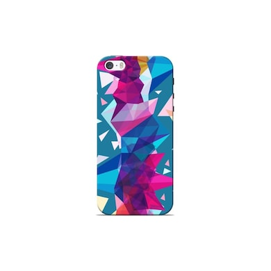 Sowing Happiness Shattering Pieces of Glass Back Cover for Apple iPhone 5S Multicolor Price in India