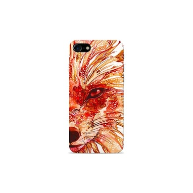Sowing Happiness Wolf Colorful Back Cover for Apple iPhone 7 Multicolor Price in India