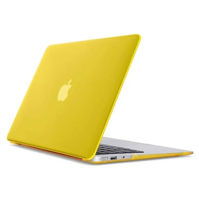 Spider Designs 15 Inch Rubberized Hard Case Cover for Apple MacBook Pro Yellow images, Buy Spider Designs 15 Inch Rubberized Hard Case Cover for Apple MacBook Pro Yellow online at price Rs. 699
