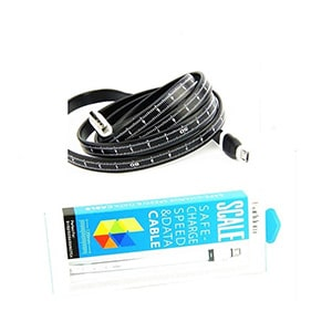 Buy Spider Designs SD-028 Ruler Cable For iPhone 5/5s/6 Sync + Charge Cable Online