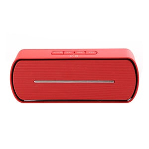 Spider Designs SD-605 Wireless Bluetooth Speaker Red