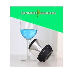 Spider Designs Taquilla SD-188 Mini Bluetooth Lighting Speaker Black images, Buy Spider Designs Taquilla SD-188 Mini Bluetooth Lighting Speaker Black online at price Rs. 749