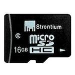 Buy Strontium 16 GB Class 6 MicroSDHC Memory Card 16 GB Online