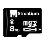 Buy Strontium 8 GB Class 6 Microsdhc Memory Card 8 GB Online