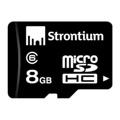 Strontium 8 GB Class 6 Microsdhc Memory Card 8 GB Price in India
