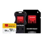 Buy Strontium Nitro 64 GB Class 10 MicroSDXC Memory Card with Adapter and Card Reader 64 GB Online