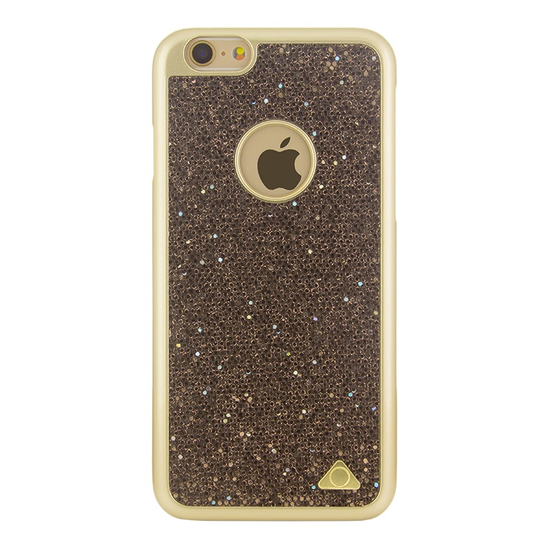 Stuffcool Lustre Fashion Accessory Hard Back Case Cover For Apple iPhone 6/6S Gold