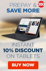 Tablets - Flat 10% Off