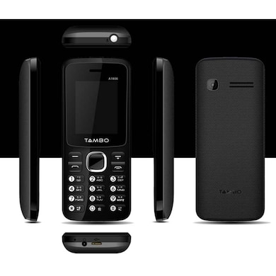 Tambo A1806 Combo Of Two Mobile (Black and Blue) Price in India