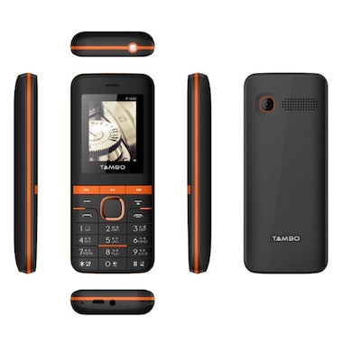 Tambo P1850 Combo Of Two Mobile (Blue and Copper) Price in India