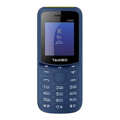 Tambo P1870, Torch,Rear Camera,2500 mAh Battery (Blue) Price in India