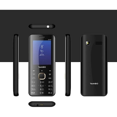 Tambo S2440 Combo Of Two Mobile (Black and Champagne) Price in India