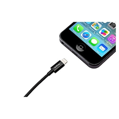 Targus ACC961AP-50 Data Cable For Apple iPhone/iPod/iPhone 5/5S Black Price in India