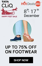 Tata Cliq - Happy Feet Sale
